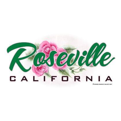 ROSEVILLE CALIFORNIA T-SHIRT Image