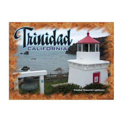 TRINIDAD CALIFORNIA LIGHTHOUSE T-SHIRT Image