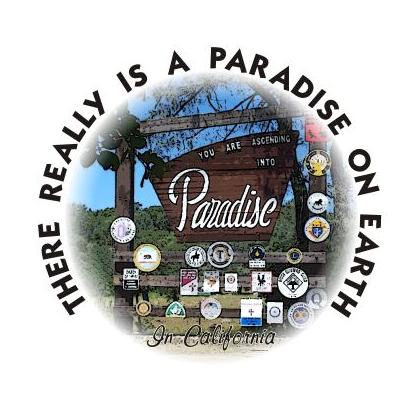 THERE REALLY IS A PARADISE ON EARTH T-SHIRT Image