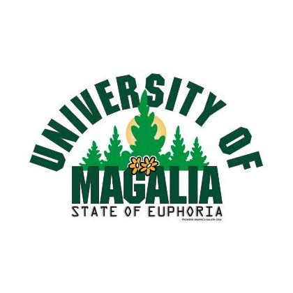 MAGALIA UNIVERSITY STATE OF EUPHORIA T-SHIRT Image