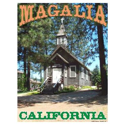 MAGALIA CALIFORNIA COMMUNITY CHURCH T-SHIRT Image
