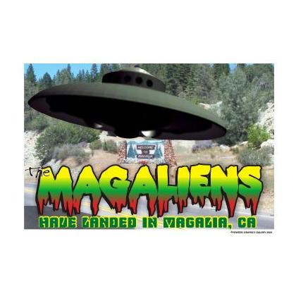 MAGALIA CALIFORNIA UFO T-SHIRT Image