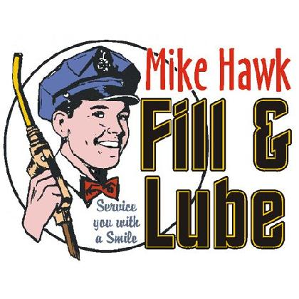 MIKE HAWK FILL & LUBE T-SHIRT Image
