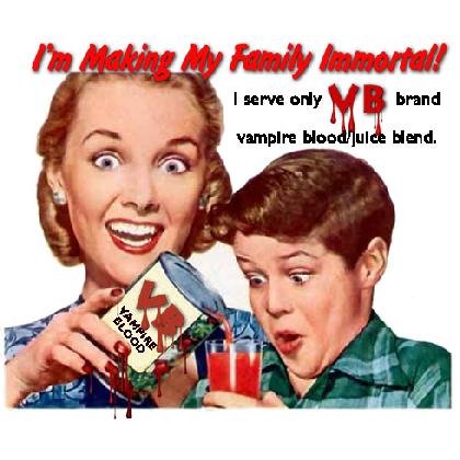 VB VAMPIRE BLOOD/JUICE BLEND T-SHIRT Image