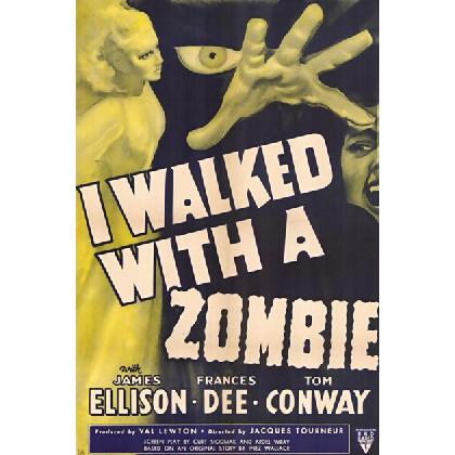 I WALKED WITH A ZOMBIE ZOMBIE T-SHIRT Image
