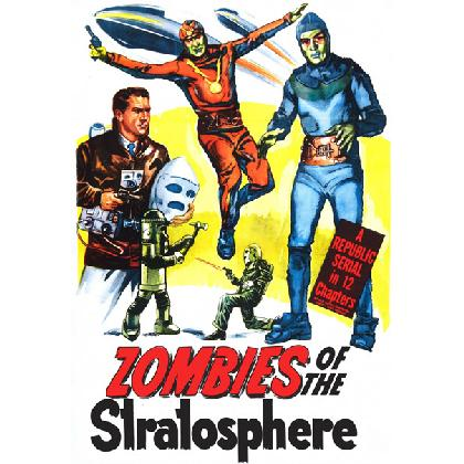 ZOMBIES OF THE STRATOSPHERE T-SHIRT Image