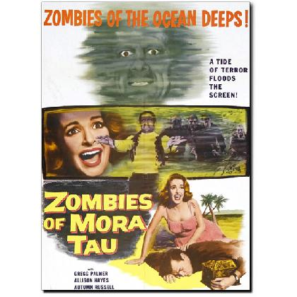 ZOMBIES OF MORA TAU MOVIE POSTER T-SHIRT Image