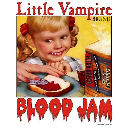 LITTLE VAMPIRE - BLOOD JAM T-SHIRT Image