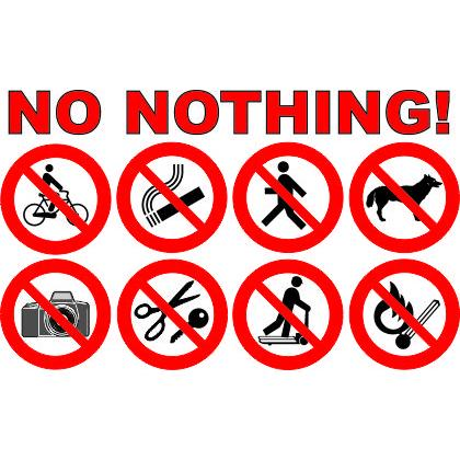 NO NOTHING T-SHIRT Image