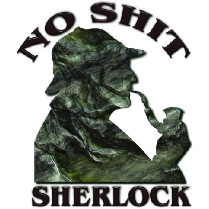 NO SHIT SHERLOCK T-SHIRT Image
