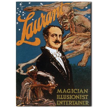 LAURANT MAGIC POSTER T-SHIRT Image