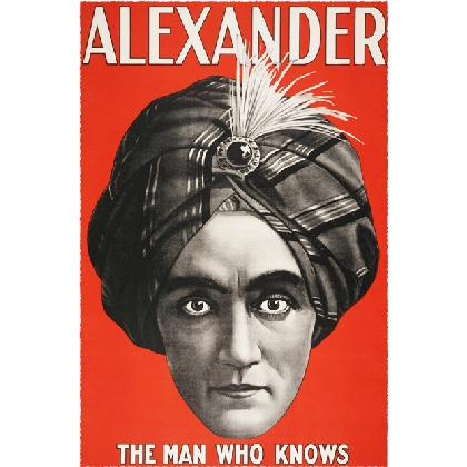 ALEXANDER • THE MAN WHO KNOWS T-SHIRT Image