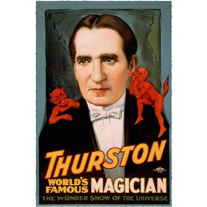 THURSTON WORLD FAMOUS MAGICIAN T-SHIRT Image