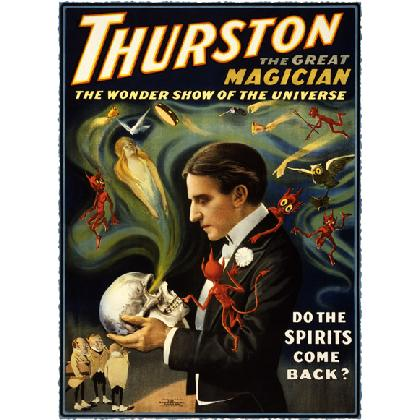 THURSTON THE GREAT MAGICIAN T-SHIRT Image