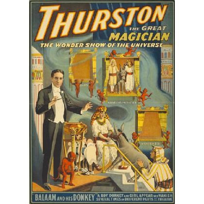 THURSTON THE GREAT MAGICIAN POSTER T-SHIRT Image