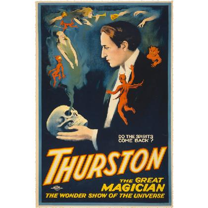THURSTON DO SPIRITS COME BACK? 1914 POSTER T-SHIRT Image