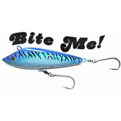 "FISHING LURE ""BITE ME!"" T-SHIRT Image"
