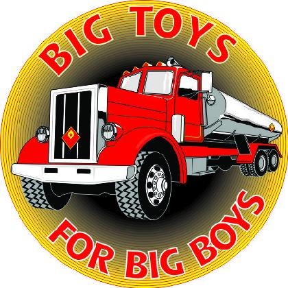 BIG TOYS FOR BIG BOYS • TRUCKERS T-SHIRT Image