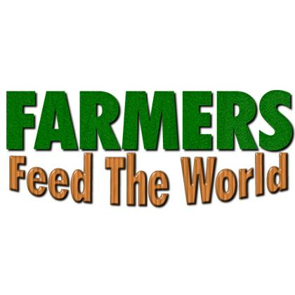 FARMERS FEED THE WORLD T-SHIRT Image