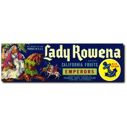 LADY ROWENA CRATE LABEL T-SHIRT Image
