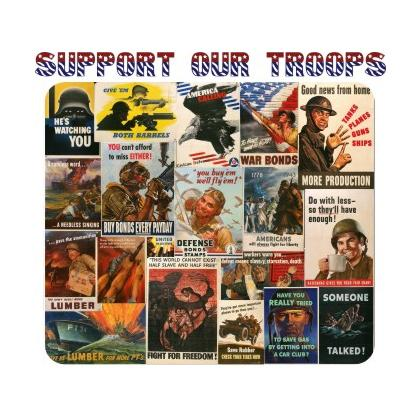 SUPPORT OUR TROOPS T-SHIRT Image