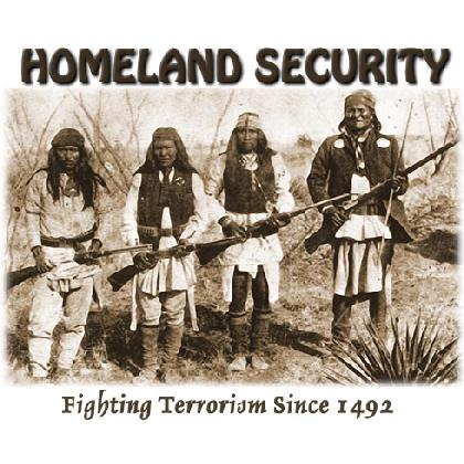 GERONIMO HOMELAND SECURITY T-SHIRT Image