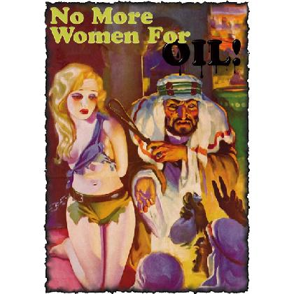 NO MORE WOMEN FOR OIL T-SHIRT Image