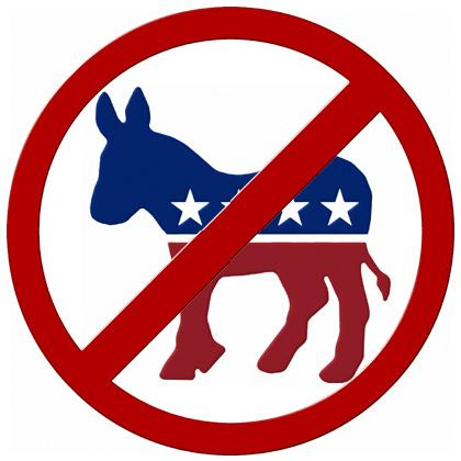 NO DEMOCRATS T-SHIRT Image