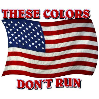THESE COLORS DON'T RUN T-SHIRT Image