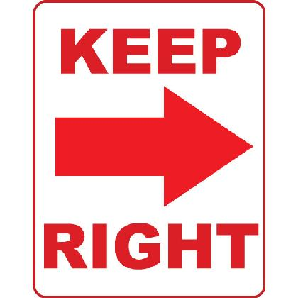 KEEP RIGHT T-SHIRT Image
