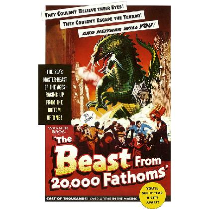 THE BEAST FROM 20,000 FATHOMS T-SHIRT Image