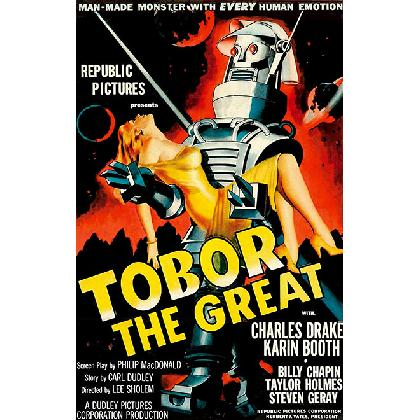 TOBOR THE GREAT T-SHIRT Image