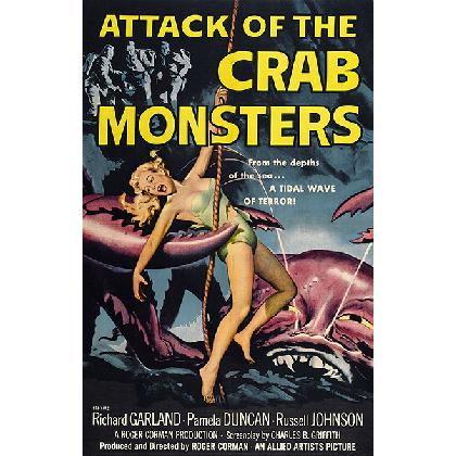 ATTACK OF THE CRAB MONSTERS T-SHIRT Image