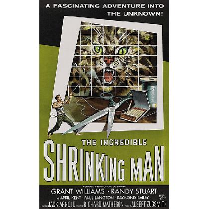 THE INCREDIBLE SHRINKING MAN T-SHIRT Image