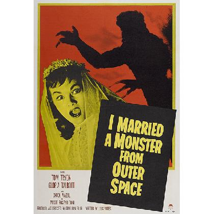 I MARRIED A MONSTER FROM OUTER SPACE T-SHIRT Image