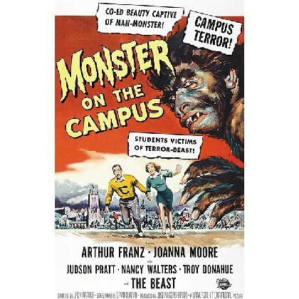 MONSTER ON THE CAMPUS T-SHIRT Image