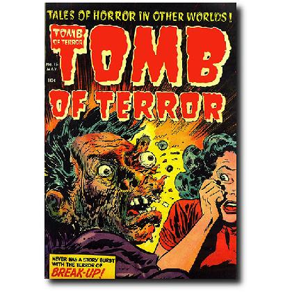 TOMB OF TERROR #15 T-SHIRT Image