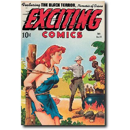 EXCITING COMICS #59 T-SHIRT Image